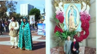 Inician celebraciones a la Virgen de Guadalupe