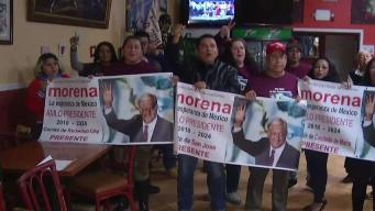 La Bahía celebra toma de posesíon presidencial en México