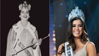 Primera reina colombiana felicita a Paulina