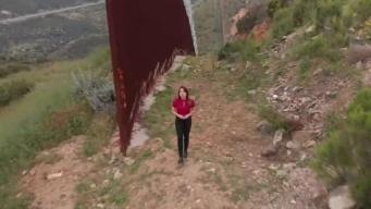 Recorriendo la frontera entre California y México