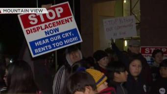 Residentes protestan por posibles desalojos en Mountain View