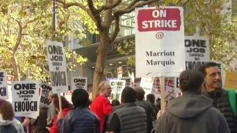 Trabajadores del Marriott llegan a acuerdo tentativo