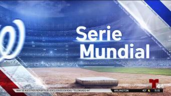 Serie mundial: segundo partido, nationals vs Astros