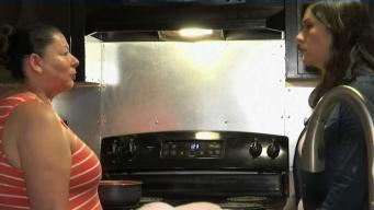 Su estufa nueva estalló