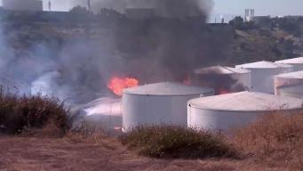 Surgen interrogantes tras explosión en planta NuStar