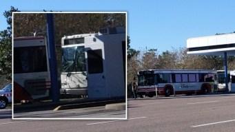 Accidente entre autobuses de Disney deja 15 lesionados