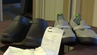 Zapatos no pueden enviarse a México