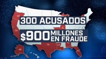 Acusan a 300 de defraudar al Medicare por 900 millones