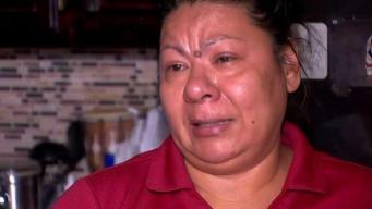 Entre lágrimas madre agradece que encontraran a su hijo