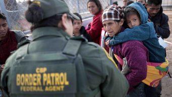 Arrestos fronterizos: cae cifra mensual en un año récord