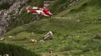 Atrapados en una cueva: usan dinamita para rescatarlos