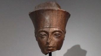 ¿Dónde está el busto de la cabeza de Tutankamón?