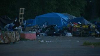 Remueven campamento de desamparados en Santa Rosa
