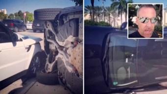 Carlos Ponce protagoniza aparatoso accidente