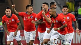 Chile le gana a Colombia y pasa a semifinales