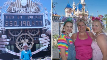 Gana pase gratis a Disneyland y lo usa 34 años después