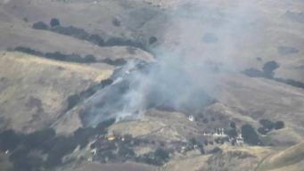 Incendio arrasa con 15 acres en Milpitas