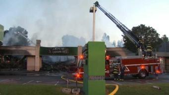 Bomberos controlan incendio de 3 alarmas en Sunnyvale