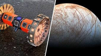 Video: el robot que buscará vida extraterrestre en Júpiter