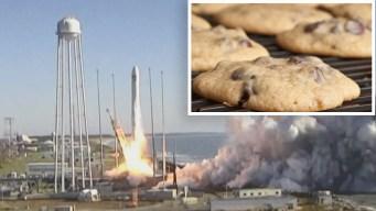 Astronautas podrían hornear galletas en el espacio