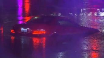 Fuertes lluvias causan estragos en la Bahía