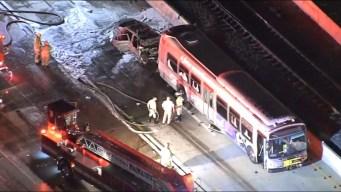 Choque entre autobús y coche en la I-10 deja un fallecido
