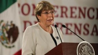 Bachelet: Guardia Nacional puede acabar con la violencia