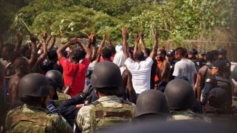México: migrantes africanos intentan escapar
