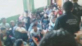 Oportuno rescate: polleros encierran a 227 migrantes