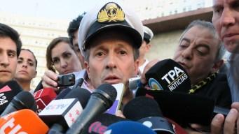 Argentina: sonido en zona del submarino sería explosión