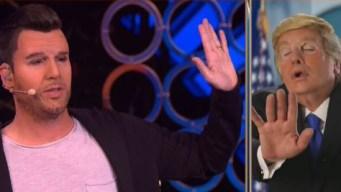 """Ricky Martin"" le dice a ""Donald Trump"" por qué no lo invita a su boda"
