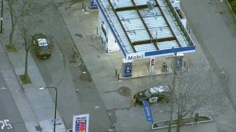 Ladrones remueven cajero de gasolinera en Berkeley
