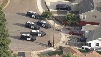 Hombre desnudo baleado por la policía en San Leandro