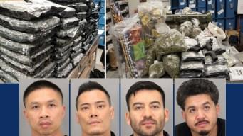 Desmantelan banda dedicada al tráfico de drogas en San José