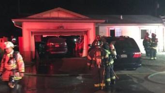 Familia desplazada tras incendio en vivienda en San José