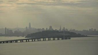 Alerta por contaminación del aire en el Área de la Bahía