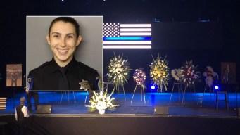 Rinden servicio funerario a oficial de Sacramento