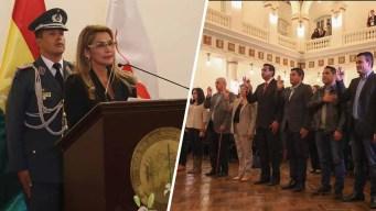 Bolivia: presidenta nombra nuevo gabinete de línea dura