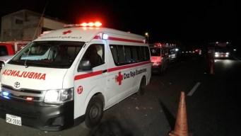 Autobús se estrella y mueren 24 personas en Ecuador