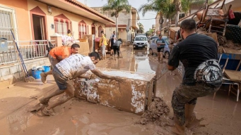 España en alerta por fuertes lluvias: al menos 6 muertos