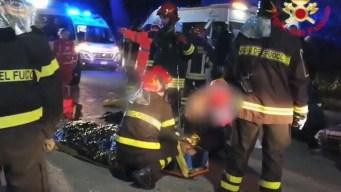 Italia: muertos y heridos tras estampida en concierto