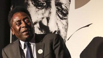 Niegan que Pelé haya sido ingresado a hospital