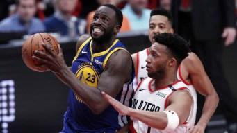 Warriors barren a los Blazers alcanzando pase a las finales