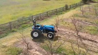 Compañía diseña el primer tractor autónomo