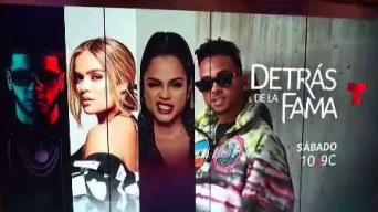 """Especial de Telemundo """"Detrás de la Fama"""""""