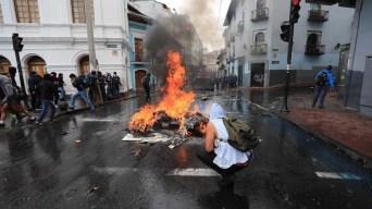 Ecuador bajo estado de excepción a raíz de protestas