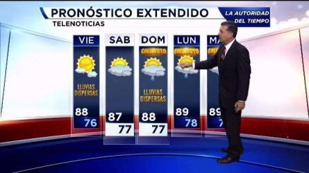 Mas lluvias en camino para el area de la bahia, planes para el fin de semana lluvioso. Estudiantes mexicanos hacen historia al lanzar nanosatellite AztechSat1 con apoyo de AMES/NASA