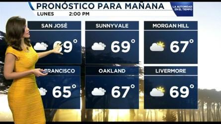 Temperaturas para el 24 de octubre