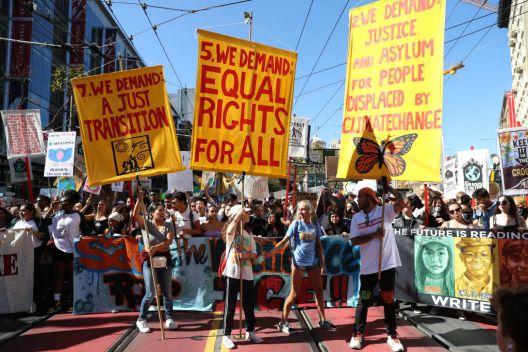 La Bahía se une a marcha mundial contra cambio climático