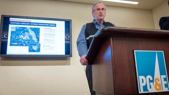 Jefe de PG&E testificará sobre apagones preventivos